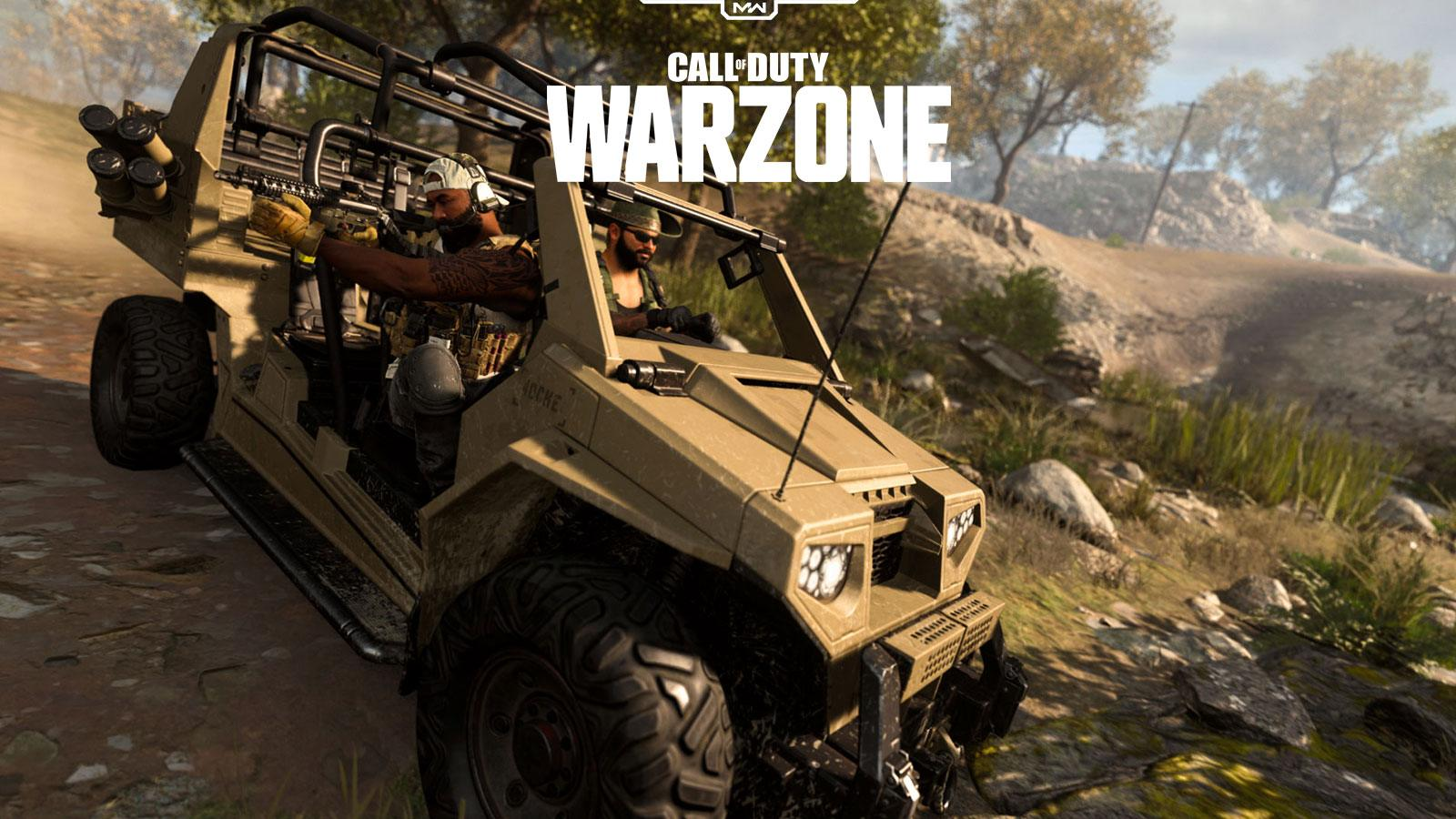 Call of Duty Warzone véhicules