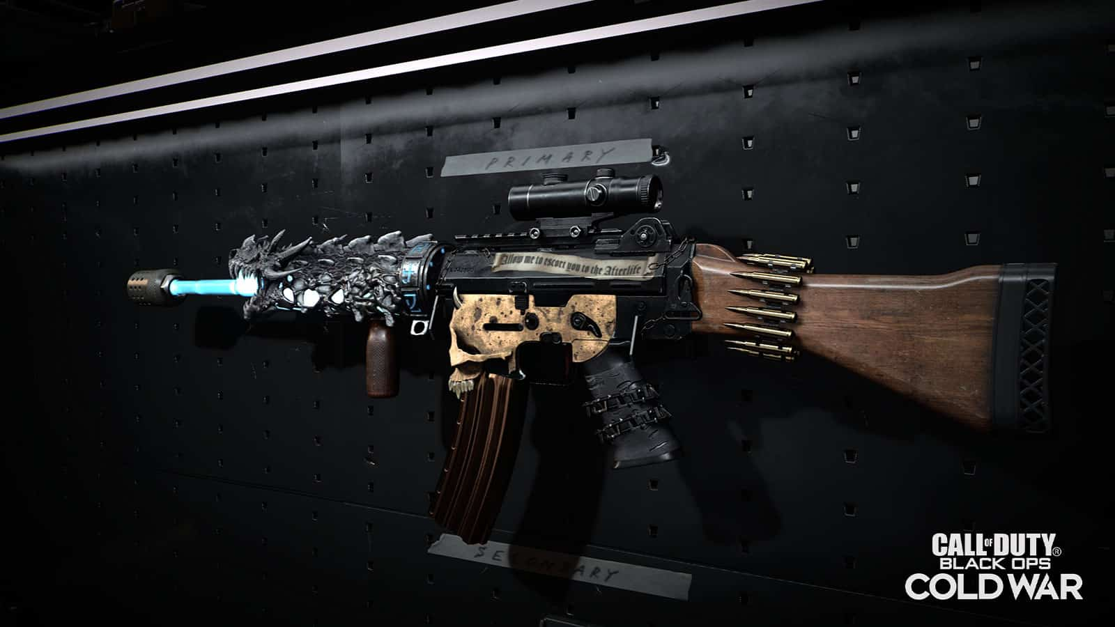MAJ Black Ops Cold War du 9 avril : Rivas, Plans d'arme customisés