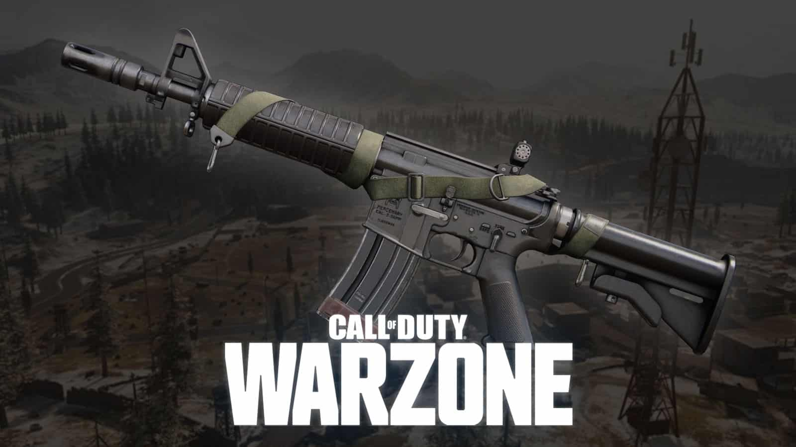 Plan d'arme XM4 Great Pacific sur Warzone