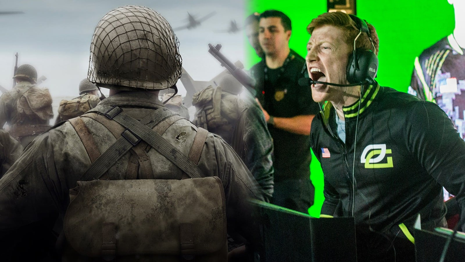 OpTic Scump et Call of Duty WWII
